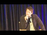 Миша Коллинз говорит по-русски