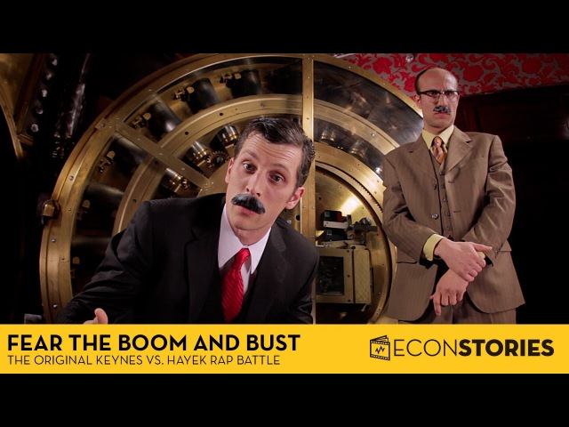 Fear the Boom and Bust Keynes vs Hayek Rap Battle