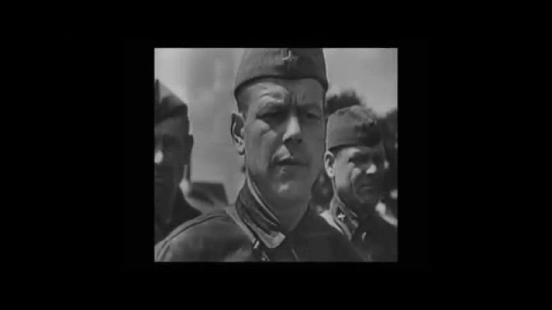 Пулемётный расчёт Голиков И В Калинин М А