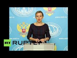 """Россия: Москва критикует Турецких СМИ """"глупые"""" сравнения сбитых самолетов."""
