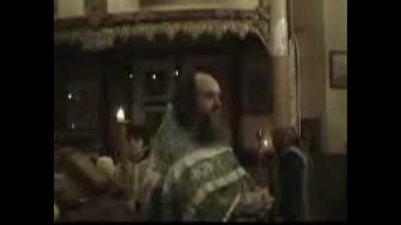Отец Василий. Еще проповедь