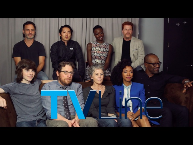 The Walking Dead Interview at Comic-Con 2015 - TVLine