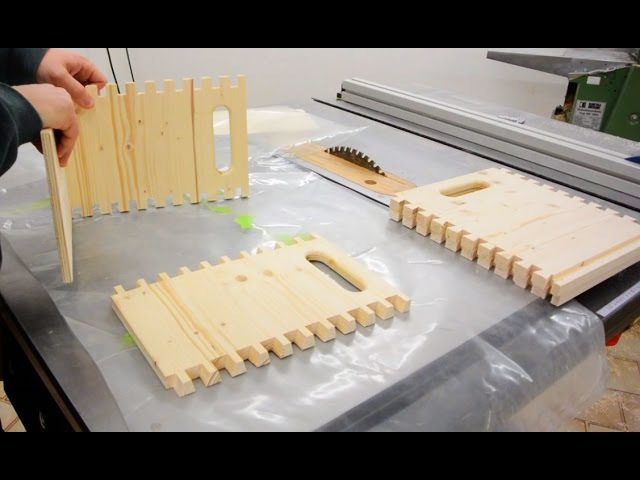 Making a Dovetailed Box (large dovetail joint using the pantorouter)