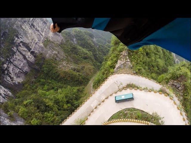 Прыжки со скал Аватара / Jumping off cliffs Avatar