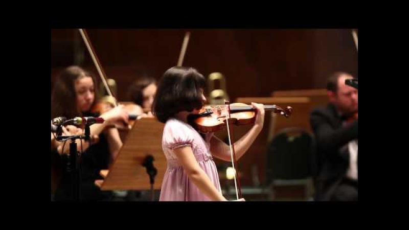 Шарль Берио. Концерт № 9 для скрипки с оркестром ля минор, ч. 1