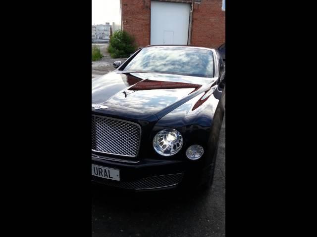 Bentley Mulsanne обработан нанокерамикой 1K NANO LACK