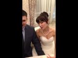 Свадьба Кристины и Александра 17 февраля 2016 г. в ресторане