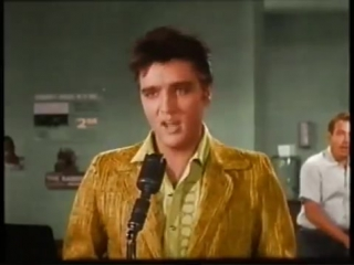 Elvis Presley - Treat Me Nice (COLOR and TRUE STEREO) - Jailhouse Rock Movie