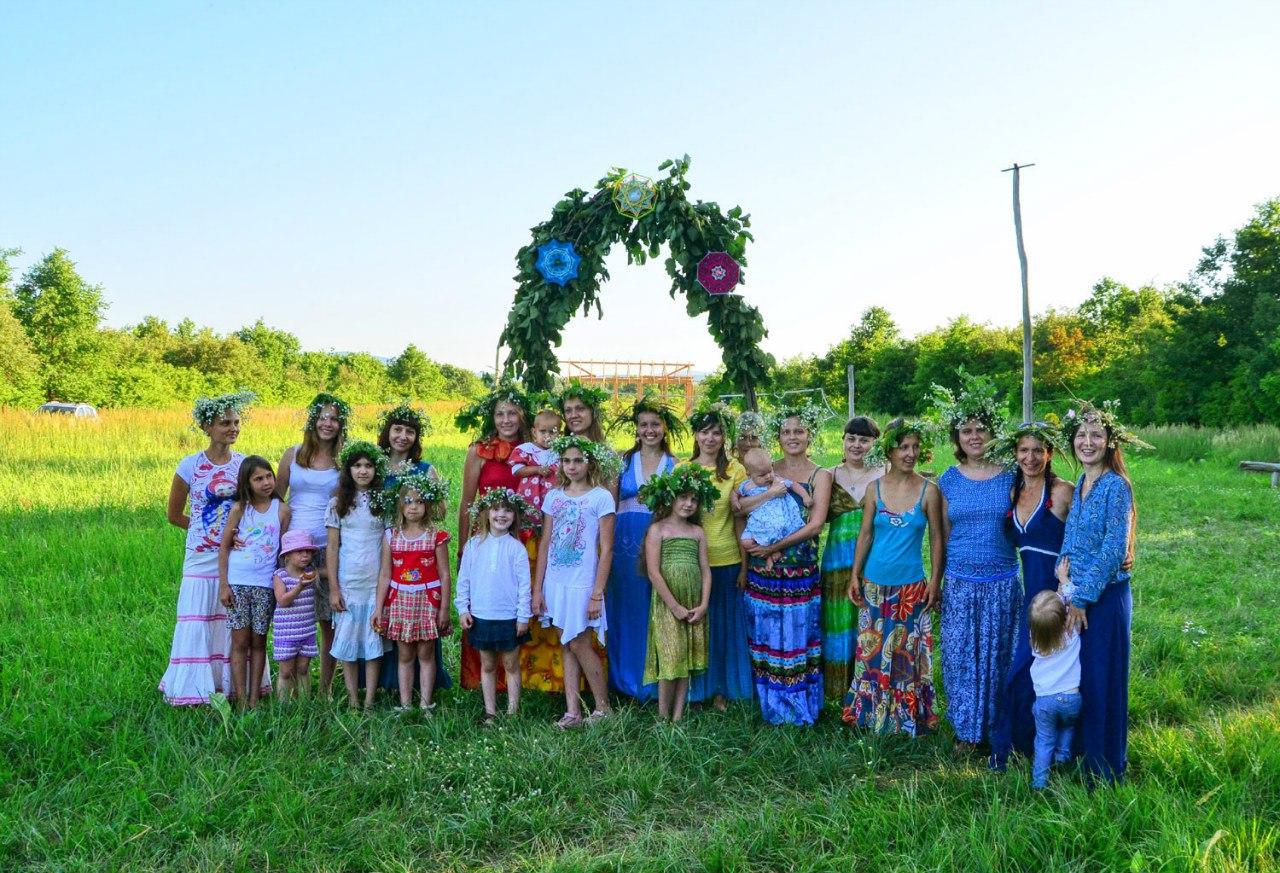 родовые поселения россии