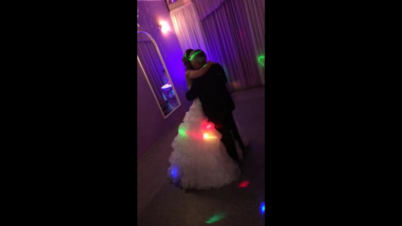 Свадьба Насти, танец невесты и отца