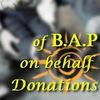 Проект: благотворительность от имени B.A.P
