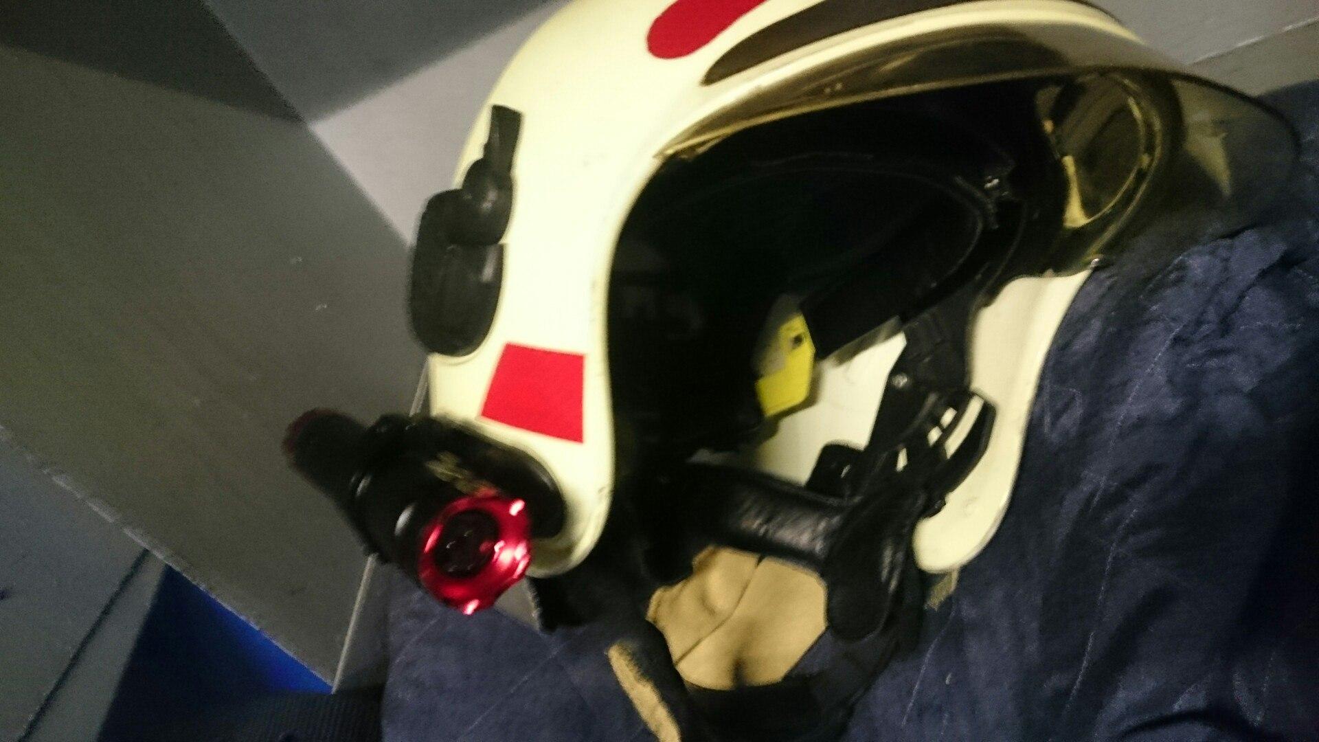 Фонарик на каску пожарного своими руками 76