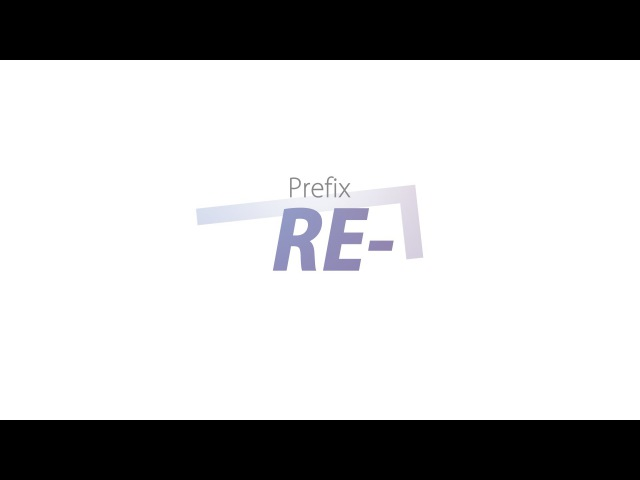 Приставка RE-