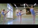 Vaganova Ballet Academy Jumps Classical Dance Girls 5th class