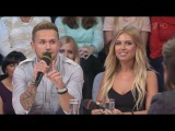 Влад Соколовский и Рита Дакота в программе «Сегодня вечером» (Первый канал, 21.09.15)