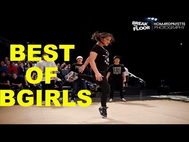 Best of bgirls | Break The Floor 2014