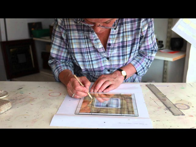 Making a Mirror with Gold and Silver Leaf