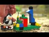 Lego. Игры для мальчиков. Пират Джек и Шкипер строят лодку. Видео для детей.