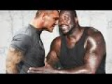 3 Brutal Randy Orton RKO's On Shaquille O'Neal