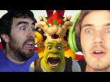 NSFW Bowser + Shrek FanFic w/ Pewdiepie