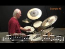Drumset Lessons with Colin Bailey: The Art of Phrasing I