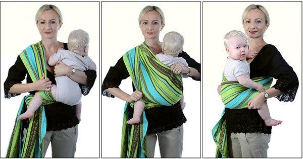 Как из шарфа сделать для новорожденного
