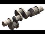SolidWorks Tutorial #185car- Crank Shaft