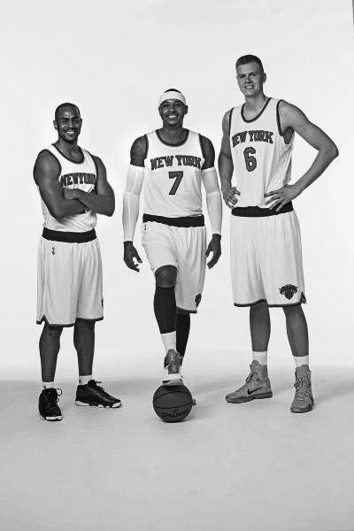 Новая команда Нью-Йорк Никс 2016