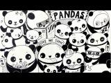 How I Doodle ~ Панда. Как рисовать