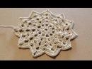 Вязания мотива крючком. Crochet motif.