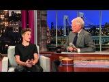 Джастин Бибер на Late Show Дэвида Леттермана rus