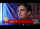 Выступление Rickey F на «Versus Fresh Blood» - Все 3 раунда vs Sin Рифмы и Панчи