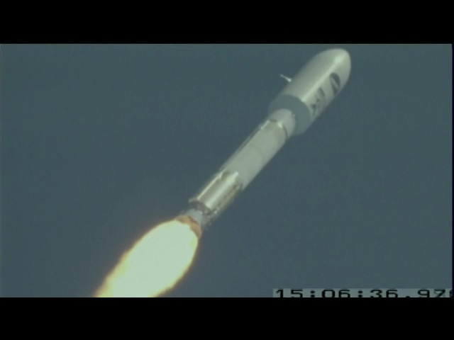 Launch of US Air Force's Mini Space Shuttle - X-37B on Atlas V Rocket
