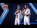 Дуэт Two Voices - Прощальная песня  - Девятый прямой эфир - Х-фактор 4 - 21.12.2013