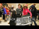 Black Friday Fight 2014 COMPILATION: Walmart + Tesco MADNESS, television haul, lingerie brawl