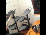"Aysma Leman on Instagram: ""drum cover🔊🔊🔊🔊#yamaha #me #drum #drummer #cover #studio"""