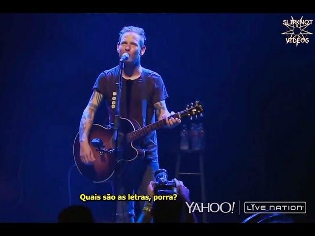 Corey Taylor - Taciturn e Snuff - Live At House of Blues 2015 (legendado Brasil)
