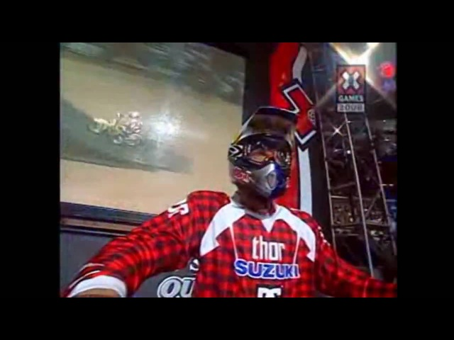 X Games 2006 - Double Backflip from Travis Pastrana! - HD