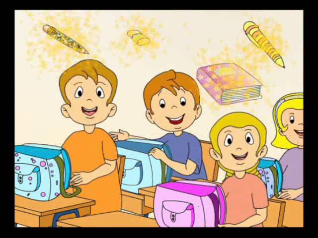 English for children. Starlight Starter. Page 20 ex.2. My school bag. Song