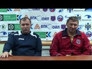 Пресс-конференция О. Чубинского и А. Жеребкова