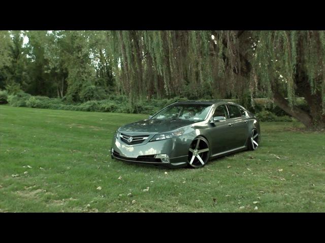 Acura TL on 20 Vossen VVS-CV3 Concave Wheels / Rims
