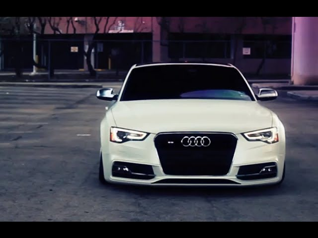 Audi S5 Bagged on 20'' Vossen CVT Directional Wheels | Rims