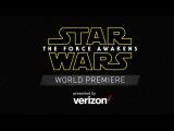 Мировая премьера Звездные войны: Пробуждение силы Star Wars: The Force Awakens World Premiere Red Carpet