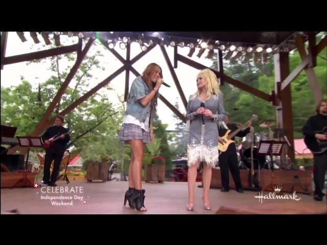 Jolene - performed by Miley Cyrus Dolly Parton [HD] With Lyrics