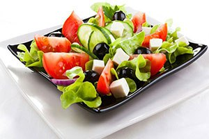 Сауна Орли, греческий салат