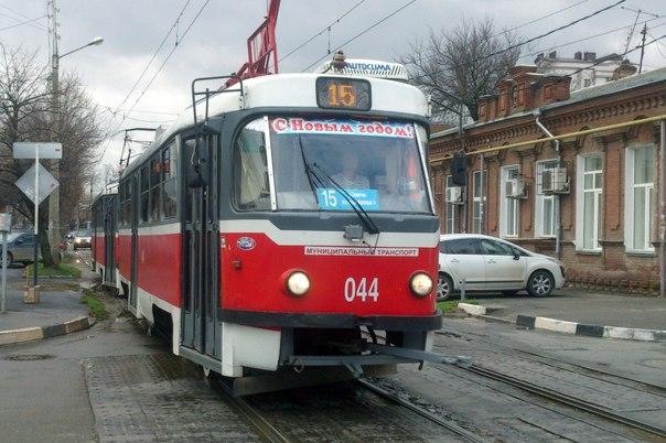 В Краснодаре временно будет изменена схема движения четырех трамвайных маршрутов