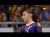 ЧЕ 2012. Командное многоборье. Алия Мустафина - вольные упражнения
