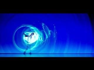 Японский балет с проекцией Плеяды.