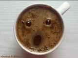 Кофе подмигивает