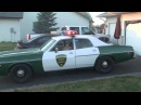 1975 Dodge Coronet Chickasaw County Sheriff's Squad Car
